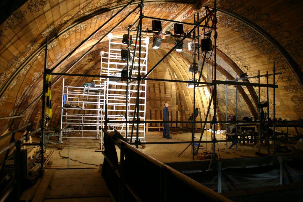Restauratie dakbeschot Grote Kerk, Alkmaar